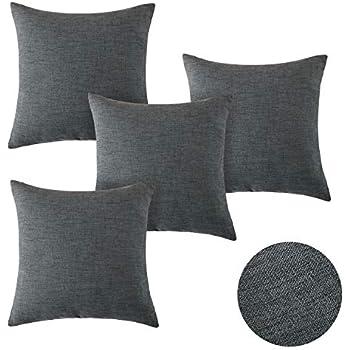 Penguin Home 4er pack koordiniert Dekorative quadratische Kissenbezüge Luxus ...
