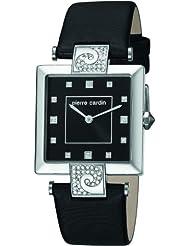 Pierre Cardin Damen-Armbanduhr Etre Envie Grande Analog Quarz Leder