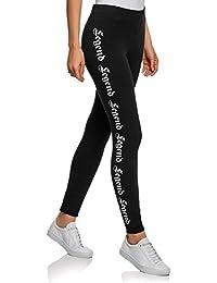 Amazon.fr   oodji Ultra - Leggings   Femme   Vêtements 9aa5efac0de