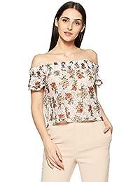 Forever 21 Women's Floral Regular Fit T-Shirt