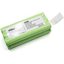 vhbw Batería Ni-MH 800mAh (14.4V) para aspirador robot aspirador Home Cleaner Dirt Devil Libero M606 como 0606004.