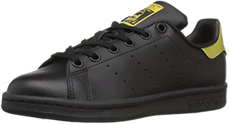 adidas originaux garçons stan smith smith smith j basket, noire / Noir  / metallic / Or , 7 m us grand enfant 30c203