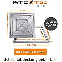 Zarge verzinkt 60 x 100 cm Kurt Neidull Winkelrahmen