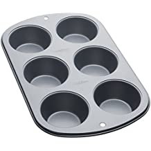 Wilton 2105-953 - Molde para muffins Recipe Right, 6 cavidades