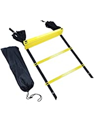 Edealing Agility Ladder Training for Soccer Football Tennis avec sac de transport
