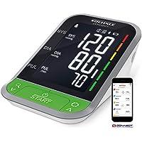 Soehnle Systo Monitor Connect 400 - Tensiómetro de brazo, Bluetooth, visor LCD, sensor