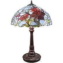 Htdeco - Luminaires - Lámpara Tiffany Tulipanes