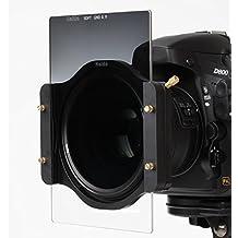 Nuevo: HAIDA Pro II MC (revestido de múltiples capas) Vidrio óptico de alta calidad - 110 mm x 84 mm GND Soft Edge Graduado Filtro 0.9 (8x) 12,5 % para el sistema Cokin P