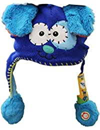 Gorrito Flipeez - Modelo: Perrito. Color azul