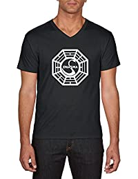Touchlines Dharma Lost, T-Shirt Homme