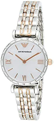 Emporio Armani Women's Mother Of Pearl Dial Stainless Steel Analog Watch - AR11290, Multic