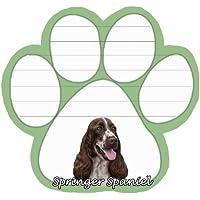 Springer Spaniel perro paw – Almohadillas de notas magnético