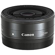 Canon EF-M 22 mm f/2 STM - Objetivo para Canon (distancia focal fija 22mm, apertura f/2-22) negro