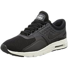 Nike W Air Max Zero, Zapatillas De Running para Mujer, Negro (Negro (black/black-sail)), 40.0