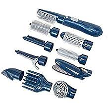 Straight Hair Comb Secador De Pelo Multifuncional 10-En-1 Con El Peine Para El Secador De Pelo Profesional Del Pelo Del Secador Secador De Pelo Del Secador Para El Hogar,Blue