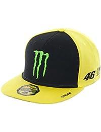 Casquette Ajustable Valentino Rossi Monster Energy Adj Sponsor Jaune (Default , Jaune)
