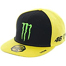Gorra Ajustable Valentino Rossi Monster Energy Adj Sponsor Amarillo (Default , Amarillo)