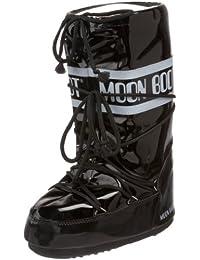 MOON BOOT Técnica, Vinilo, Color Negro y Blanco