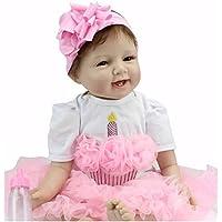 22 Reborn Baby Doll  Soft  Vinyl Silicone Newborn Baby Doll Girl Toy Gift Dolls