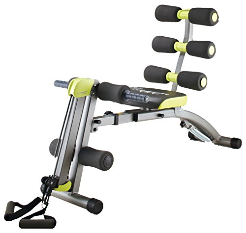 #Wondercore II Unisex 12-in-1 Home-Fitness-Gerät, grau#