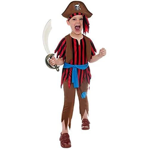 355 353 - - Corsair Pirate Child Costume - di Smiffy Taglia S