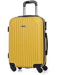 ITACA - T71550 Maleta trolley 50 cm cabina ABS. Equipaje de mano. Rígida y