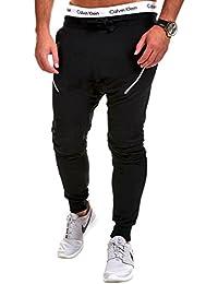MT Styles Loose Fit Zipper sarouel pantalon de sport P-2201