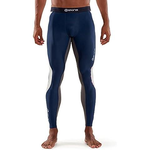 Skins para hombre mallas largas Dnamic, Indigo, S, DA99050012001S