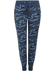 oodji Ultra Femme Pantalon Jersey Style Militaire