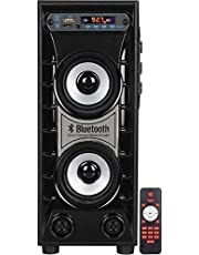 Classic Gold TS-1008 Bluetooth Tower Speaker (Black, 2.0 Channel) 2.1 Home Cinema (Home Theatre System)