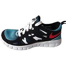 more photos 0eedc 7836f Nike Free Run 2 GS, Sneaker a Collo Basso Unisex-Bambino