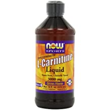 Deportes, L-Carnitina líquida, Triple Fuerza, Citrus Flavor, 3000 mg - Now Foods