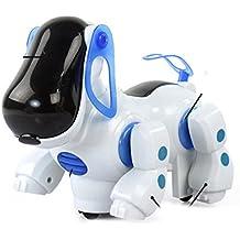 STRIR Perro Mascota Robotico Interactivo Caminar Juguete para Ninos,Color aleatorio