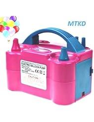 MTKD électrique gonfleur ballon, pompe électrique pour gonfler des ballons. Idéal pour les fêtes et événements. Certificat CE, Haute puissance 600W. Couleur fuchsia.