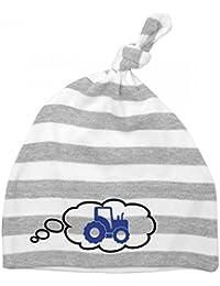 Mikalino Baby Mütze Traktor