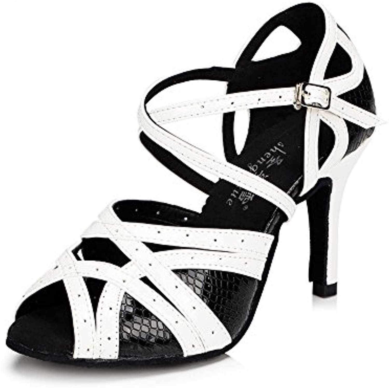 29efaa47a48f Ladies Ladies Ladies Latin Dancing Shoes High Heel Adult Dancing Shoes  Social Dance Shoes Sandals Soft