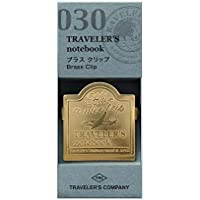 Brass Clip Airplane - Recambio para portátil Traveler's Notebook Regular y Passport Size