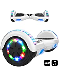 "MARKBOARD Elektro Scooter Hoverboard LED 6,5"" Self Balance Scooter E-Skateboard Elektroroller 700W Motor Bluetooth"
