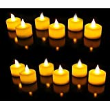 JAMB Battery Operated LED Candle Tealight Diya for Home Decor & Diwali Lights Decorative Lights for Home Wall Lighting Decora