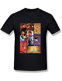 Men's 2015 U.S. Open Roger Federer T-shirts XXXX-L