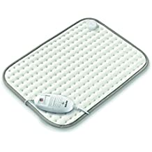 Beurer HKM-100 - Almohadilla electronica de tacto suave, color blanco