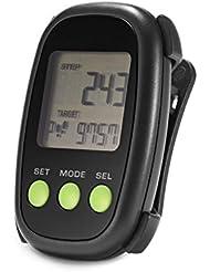 TCM Tchibo LCD Schrittzähler mit 3D-Sensor Pedometer Kalorienzähler u.v.a.m