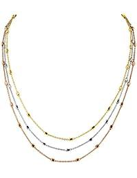 Bella Donna Damen-Halskette 925 Silber