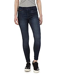 Red Herring Dark Blue 'Georgia' Dark-Wash Jeggings