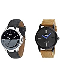 Watch Me Gift Combo Set For Him/Watches For Men/Watches For Boys (watches 3 Combo/watches 2 Combo) WMC-002-BR-AWC... - B0778LCT31
