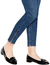 c918bc2f21587 Good for the Sole Womens Black Patent  Garda  Wide and Comfort Fit Pumps