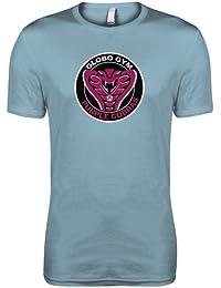 Prisionero - Globogym violeta Cobras T-Camiseta del equipo de fútbol de mujer de la película