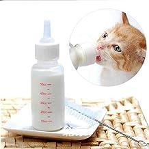 FuLanDe - Juego de cepillos para Lactancia y Leche para Cachorros y Gatos, 50 ML