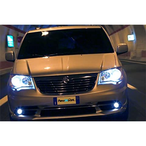 KIT FARI XENON AUTO LAMPADE H11 6000°K 55 WATT ADATTO PER LANCIA VOYAGER DAL 2011 IN POI + 2 FILTRI CENTRALINE SLIM PRODOTTO NUOVO