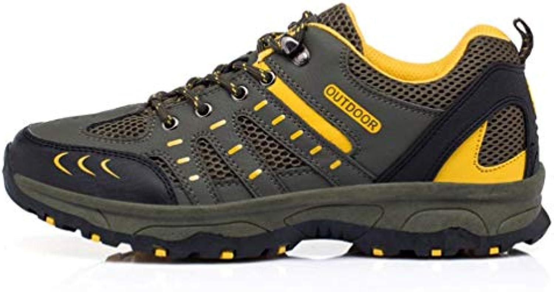 ZHRUI Men Men Men Hiking scarpe da ginnastica Outdoor Fishing Trekking Turismo Antiscivolo Scarpe Sportive (Coloreee   Marronee, Dimensione... | Bassi costi  1a28b8